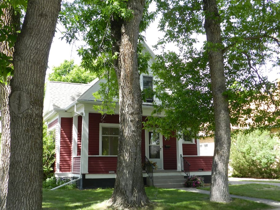 Tree shaded house on desirable, quiet residential neighborhood