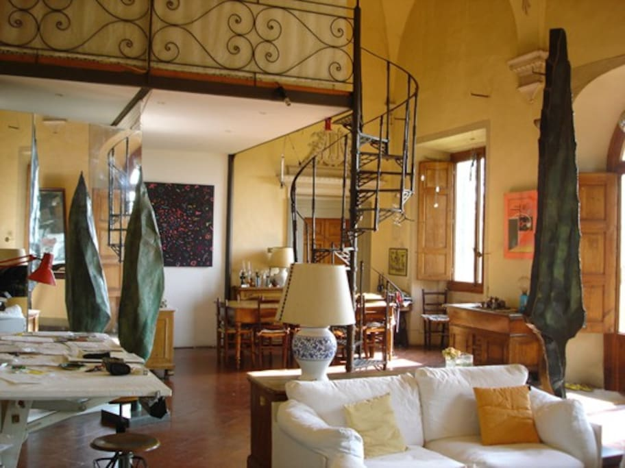 Beautifull historic 240sqm home florence hills lofts for rent in bagno a ripoli tuscany italy - Bagno a ripoli italia ...