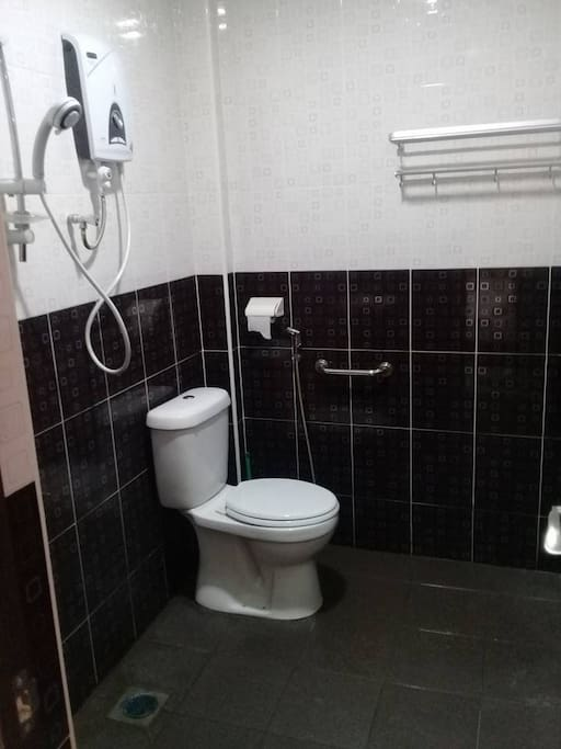 private toilets for every room
