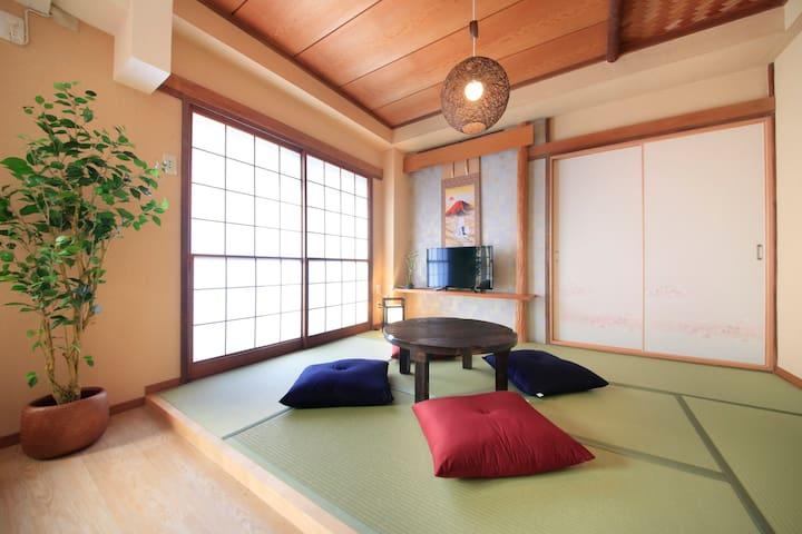箱根の温泉と観光を満喫するなら  (OYADO 02号室)