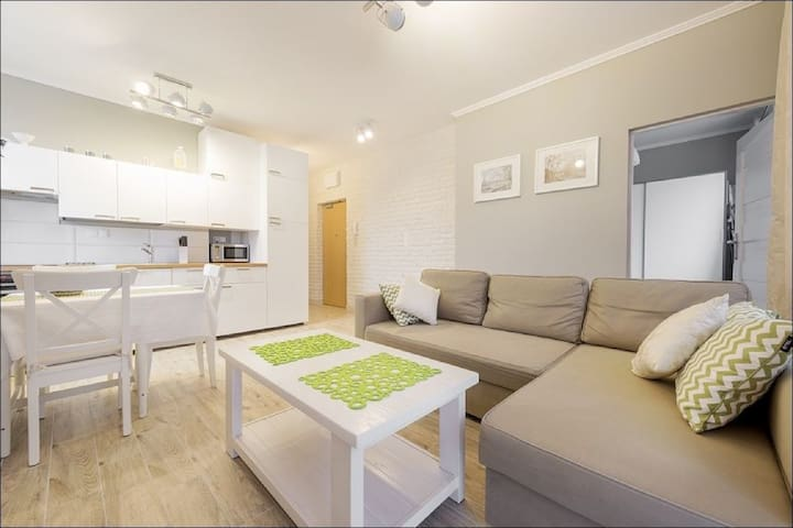 Two Bedroom Apartment with Free Wi-Fi - 6 Guests