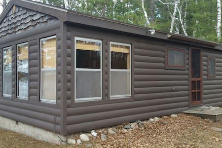 Rustic  3 season cabin on Big Portage Lake