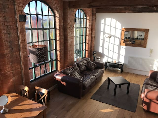 Double room 10mins walk to City with free parking - Nottingham - Appartement