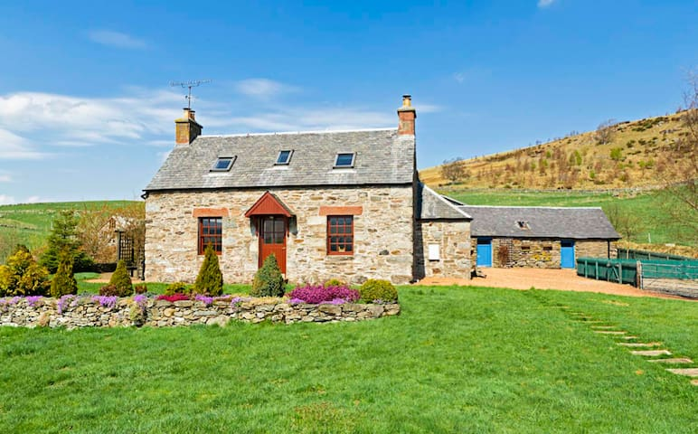 Highland cottage, Perthshire, UK - Trochry - Casa