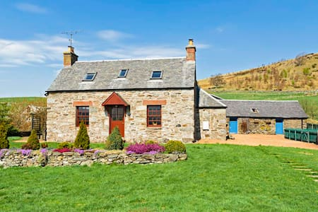 Highland cottage, Perthshire, UK - Trochry
