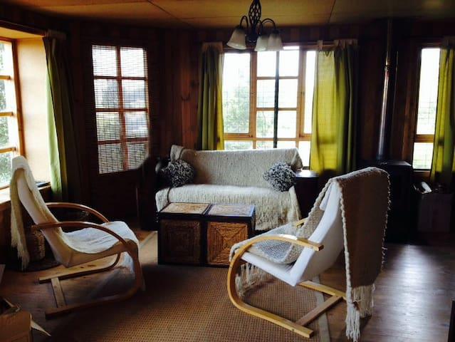 Cabaña rústica cercana a festival costumbrista - Castro - Natur-Lodge