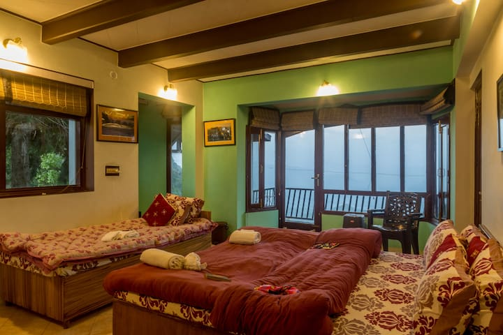 Mystic Abode   Experience echo in the mountain