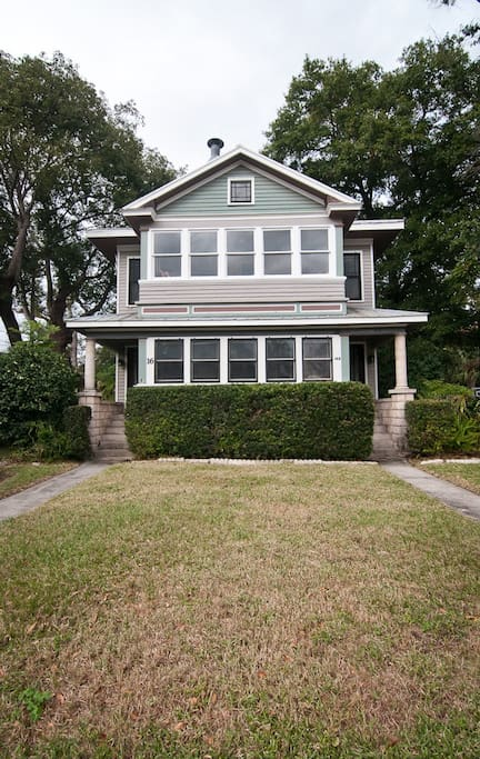Historic St Augustine Home Built in 1924