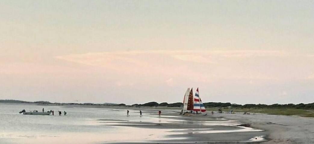 Cedar Island Beach within 25 min. drive - Beach Access, horse back riding and Ferry to Ocracoke, NC