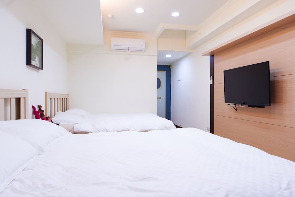 2張舒適雙人床