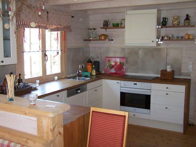 Pension Frauenschuh (Hirschbach), Ferienhaus mit drei getrennten Schlafezimmern