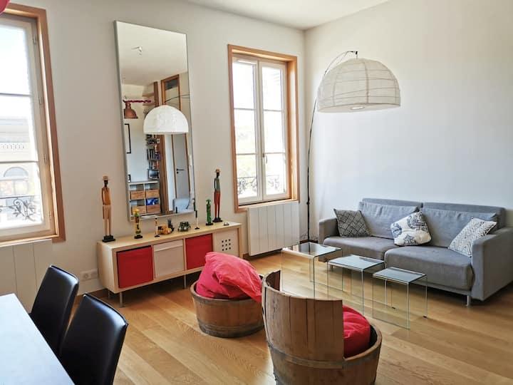 Bel appartement Bordeaux Bastide