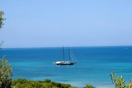 Golfo di Marinella pool A/C and sea - Golfo Aranci - Leilighet