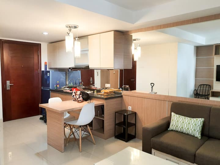 Tera Residence #1703 city view, cozy space 49 sqm