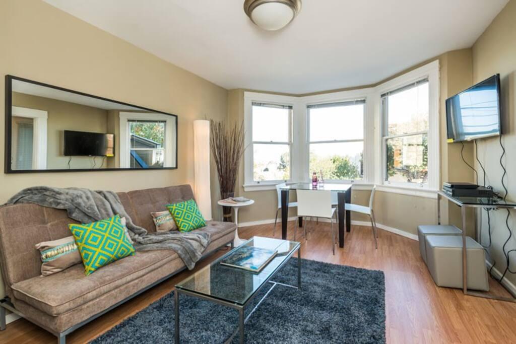 Comfy living-room!