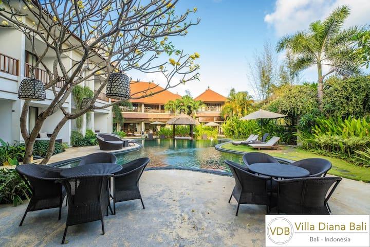 Villa Diana Bali Main Pool