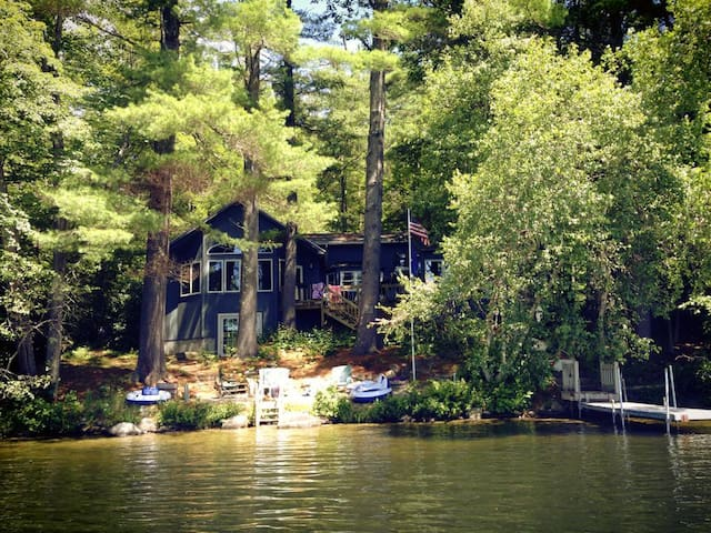 Lakefront Cottage on Lake Kanasatka