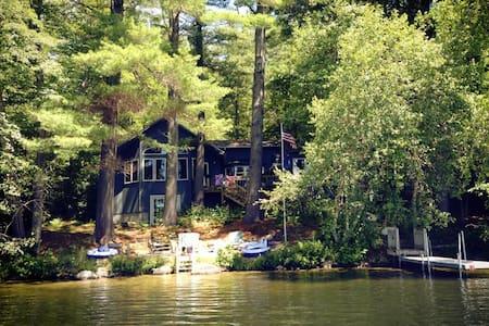 Lakefront Cottage on Lake Kanasatka - Moultonborough - Cabaña