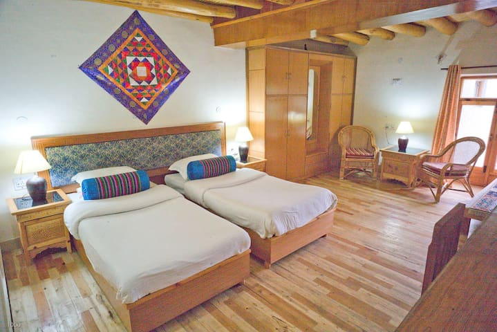 Silver Cloud Ladakh, Spacious room