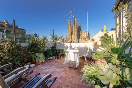 SAGRADA FAMILIA VIEW STUDIO-LOFT - Barcelona