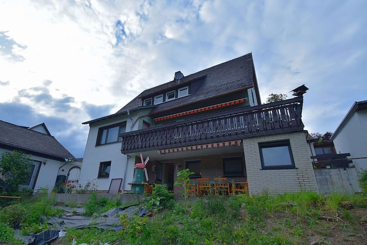 Modern apartment close to Winterberg with private entrance, garden and terrace
