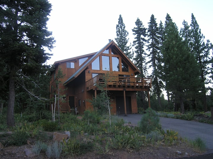 Mountain Views from Cabin in Tahoe Donner