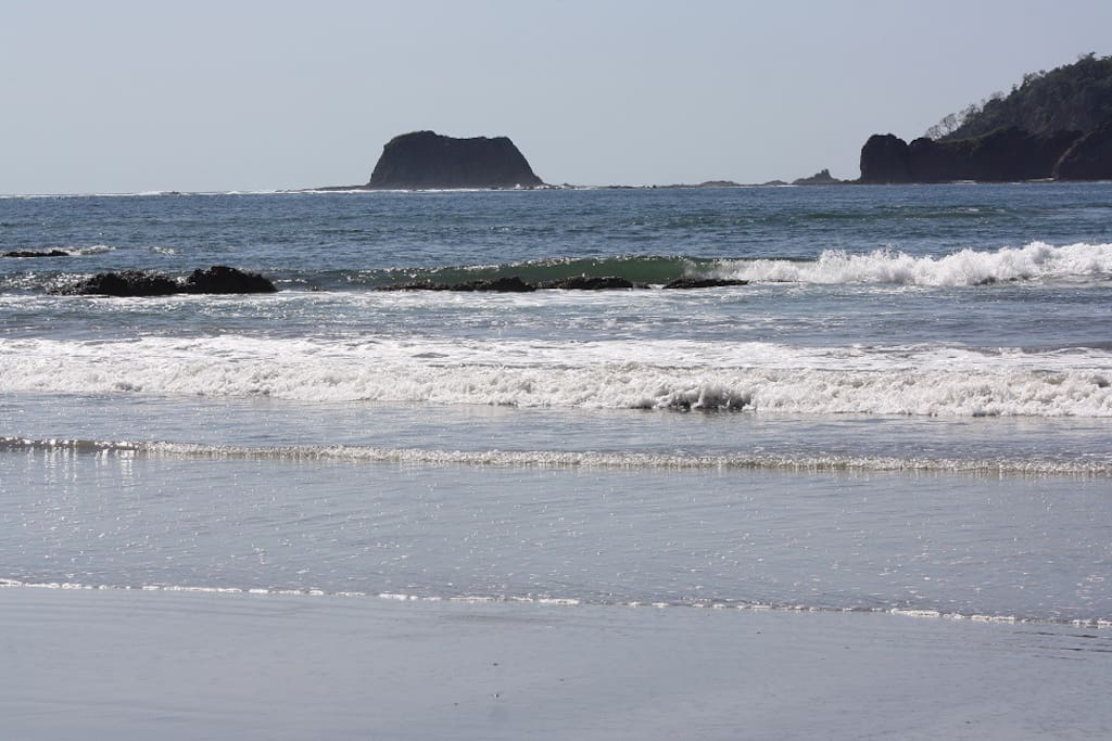 Playa Carrillo.  Sheltered and Tranquil.  Great for a relaxing swim.