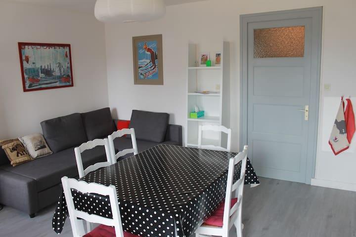 Appartement 5 couchages coeur village d'Autrans
