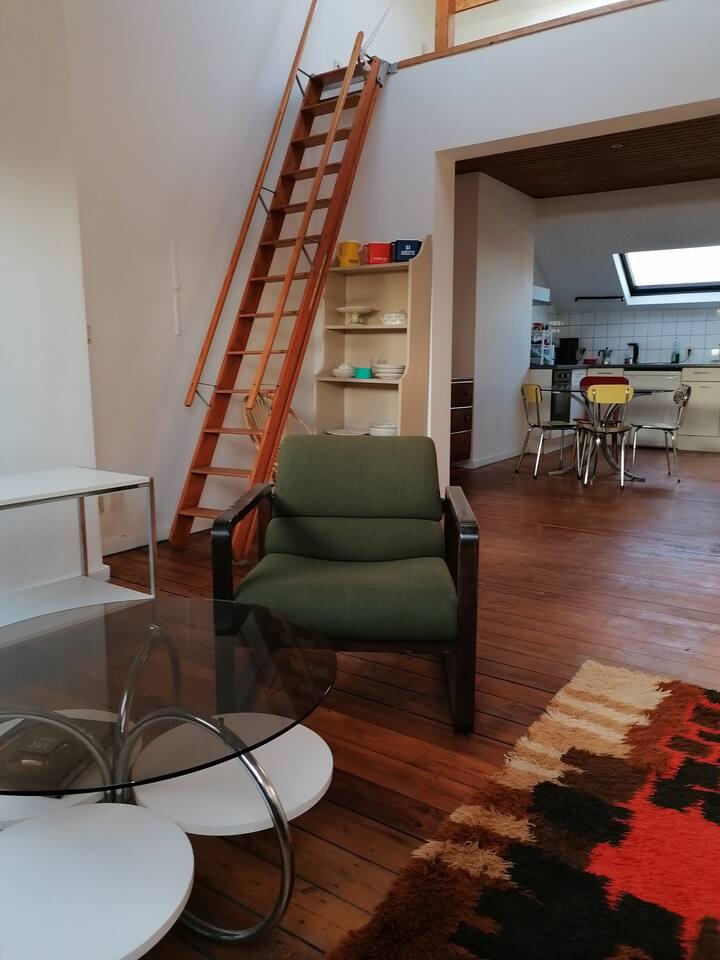 Appartement d'hôte près de Tours et Taxis