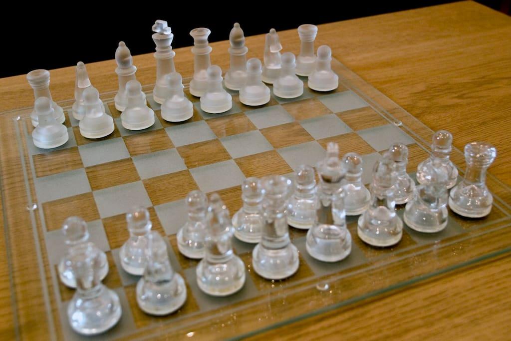 Chess board for days when you feel like Kapablanka or Kasparov.