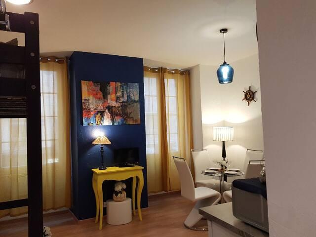 Charmant studio Place Massena Carré D'or