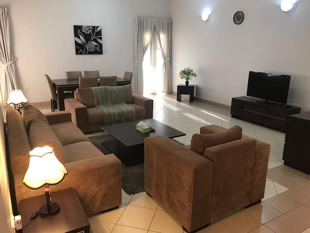 2 Bedroom Furnished Apartment in a Greenery Area