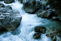 the land of the living water beneath your feet