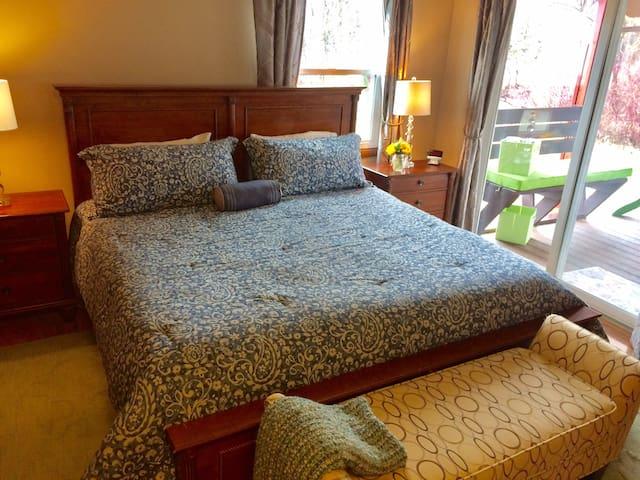 Bozeman/ Belgrade master suite