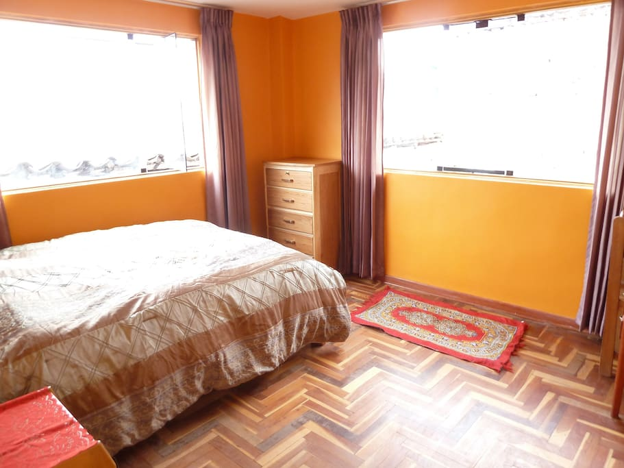 Your bright & spacious bedroom