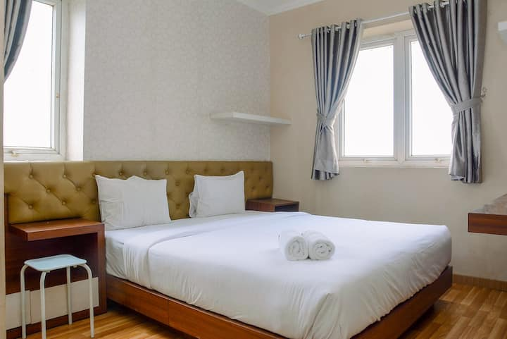 Cozy 3BR at Grand Palace Kemayoran Apartment
