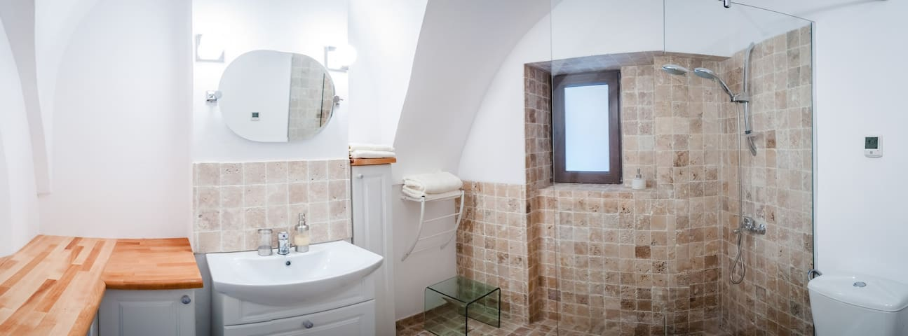 Our bathroom with underfloor heating
