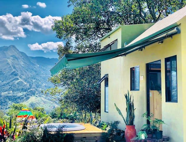 Botanico Glamping- Casa de la Montaña