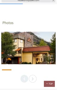 Ski in-out, 1 bed condo sleeps 4 - Olympic Valley