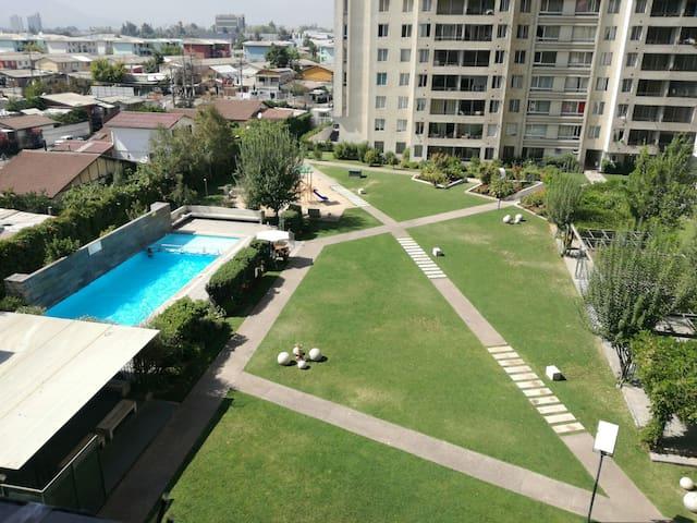 Habitación con Increíble vista - Macul - Apartment