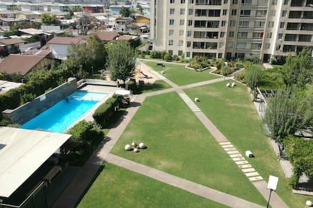 Habitación con Increíble vista - Macul - Lägenhet