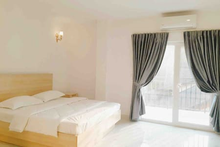 Fully Furnished Studio 35m2+Kitchen+Pool+Gym+View