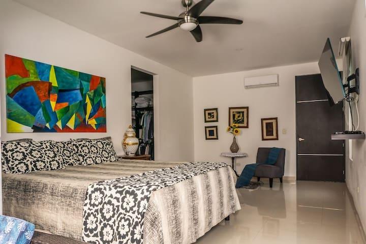 Habitacion - Suite Luxuri.