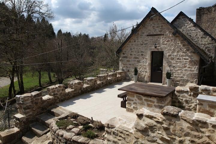 Castle Terrace at The Moulin De Villesaint
