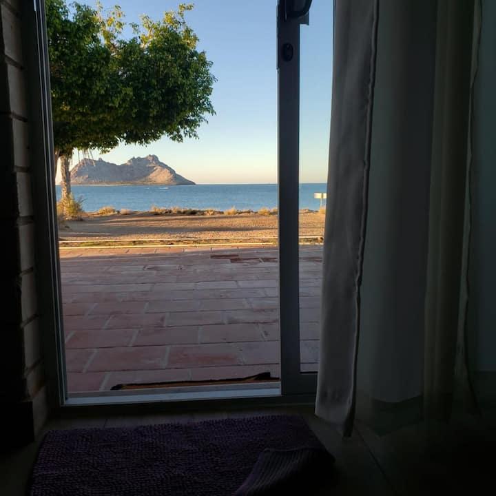 Preciosa casa frente al mar, Bahía de Kino, Son