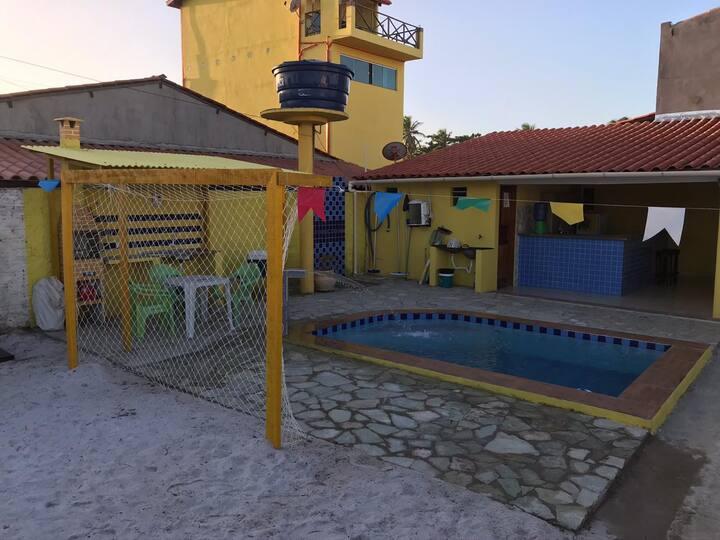 Lagoa do Pau - Casa com 2 quartos e Piscina