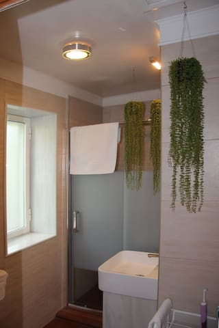 Baño planta alta (upstairs bathroom)