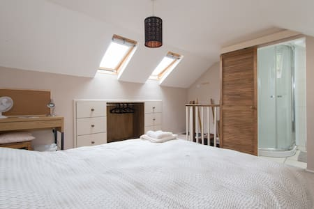 Loft Room in E London in Family Home - women only