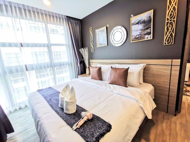 Luxury 1 bedroom, near 7-11, Jomtien beach