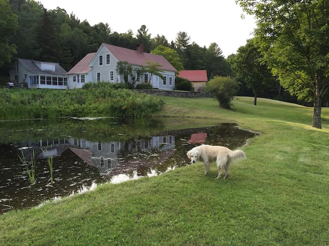 Vermont Farmhouse - Londonderry - Casa